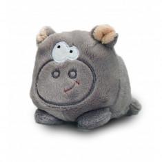 Hipopotam de plus Bobballs Keel Toys, 10 cm, 1 an+