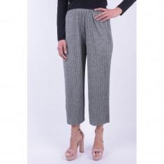 Pantaloni Eleganti Pieces Killa Culotte Gri, L, M, S, XL