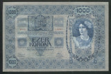 Y856 UNGARIA AUSTRIA 1000 KORONA KRONEN 1902 FARA SUPRATIPAR NECIRCULATA UNC