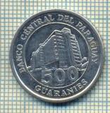 11719 MONEDA- PARAGUAY - 500 GUARANIES  -ANUL  2006 -STAREA CARE SE VEDE