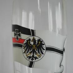 Pahar sticla cu steagul Prusiei,  Franckreich