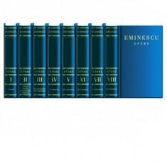 Eminescu   OPERE      Editie  de lux  8 VOLUME, Nichita Stanescu