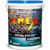 Vopsea Acrilica pentru Metal EMEX SUPRAMET, Gri - Bidon 18 Kg