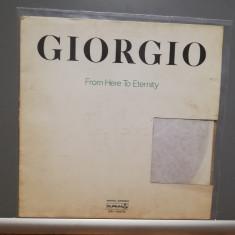Giorgio Moroder – From Here to Eternity (1977/Durium/Italy) - Vinil/Vinyl/