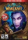 World Of Warcraft 14-Day Free Trial DVD, Strategie, 12+, MMO, Blizzard
