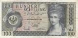 AUSTRIA 100 schilling 1969 VF+!!!