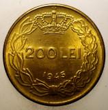 1.162 ROMANIA MIHAI I 200 LEI 1945 XF/AUNC