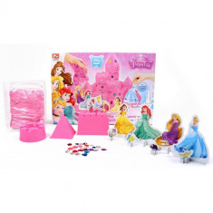 Set Nisip Kinetic Castelul Disney Princess