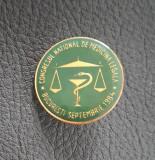Insigna Medicina legala - Bucuresti - 1984