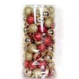 "Ornamente de Craciun: Set 101 Globuri ""Goldred"""