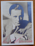 Autograf pe fotografie al actorului  american Herbert Marshall , 1937 , cu plic
