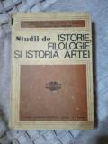 Studii de Istorie,Filologie si Istoria Artei