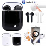 Casti set bluetooth wireless in ear earbuds Android Iphone