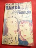 Radclif Garnett- Banda Florilor -Ed.Danubiu 1941 Colectia Scotland Yard 4 ,112p