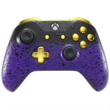 Controller 3D Purple Shadow And Gold Xbox One S