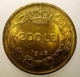 1.163 ROMANIA MIHAI I 200 LEI 1945 XF/AUNC