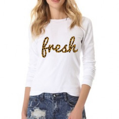 Bluza Fresh - Alb
