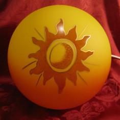 LAMPA / VEIOZA CU ABAJUR CRISTAL JOSKA MODEL SUNRISE