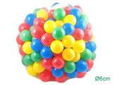 Set 200 Bile Colorate pentru Joaca Copii, Multicolore, Diametru Bila 6cm