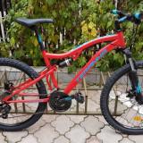 Bicicleta Teranna 2645 Garantie 24luni - Rosu, 17.5, 21, 26