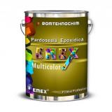 Pardoseala Epoxidica cu Plachete Colorate EMEX MULTICOLOR, Gri  - Bidon 20 Kg