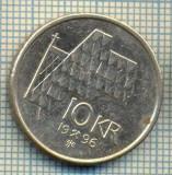 11779 MONEDA - NORVEGIA - 10 KRONER - ANUL 1996 -STAREA CARE SE VEDE, Europa