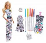 Set de joaca Barbie Fashion Crayola