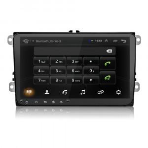 Navigatie 9 inch Android 8 Universala Volkswagen VW Skoda Seat WiFi 2Din  USB