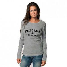 Bluza Pufoasa si Nebunatica - Gri