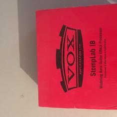 Vox StompLab IB procesor pentru chitara bass.