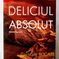 """""""DELICIUL ABSOLUT. Carte de bucate cu multa CIOCOLATA"""", Gabriela Boerescu, 2013"""
