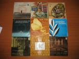 """Lot 42 discuri vinil single 7"""" cu muzica corala, simfonica, religioasa"""