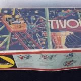 Jucarie veche tabla Technofix Tivoli Carusel W.Germany