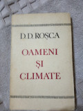Oameni si climate-D.D.Rosca