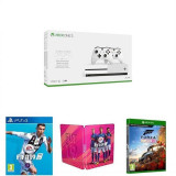 Consola Xbox One S 1Tb Dual Controller Forza Horizon 4 And Fifa 19