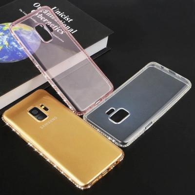 Husa Silicon PREMIUM cu pietricele pt Samsung Galaxy S9 / S9+ / S9 Plus / Note 9 foto