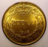 1.164 ROMANIA MIHAI I 200 LEI 1945 XF/AUNC