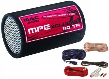 Pachet Bass Auto (Amplificator, Statie + Subwoofer Bass + Kit de Cabluri) Mac Audio 400 W 25 cm - BLO-Power Tube Promo