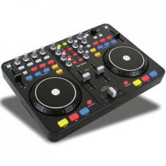 DJ MIXER & SCRATCH CONTROLER + DJ SOFWARE