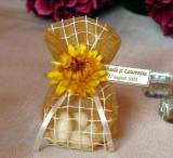 Marturii nunta / botez saculeti flori uscate MS03G