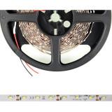 Banda LED 5m | 60buc/m | 3528 | 4.8W/m | 12V DC | alb cald, fara conector
