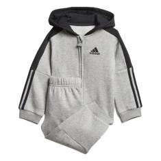 Trening Adidas Logo Hooded Fleece Jogger Copii -Trening Copii DJ1585, XS, XXS