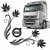 Set 2 x Sticker geamuri laterale Volvo, TIR016