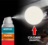 Spray Profesional RAL9010 pentru vopsire elemente din plastic sau metal