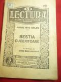 Pierre Mac Orlan - Bestia Cuceritoare - Ed. Adevarul Colectia Lectura ,32 pag