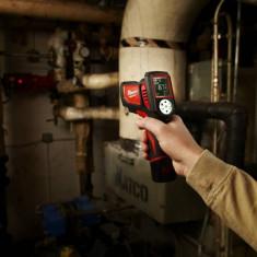Indicator de temperatura cu laser MILWAUKEE C12 LTGE-0