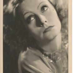 (B) carte postala-ACTORI-Greta Garbo, Necirculata, Printata