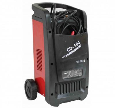 Robot pornire si redresor baterie auto 12V 24V 360A 50KW, incarcator acumulator CD-500 foto