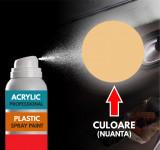 Spray Profesional RAL1001 pentru vopsire elemente din plastic sau metal