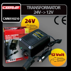 Transformator curent de la 24V la 12V Carpoint - CRD-CAR0510210